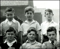 John Lennon at Dovedale School aged 10