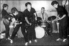 The Silver Beatles - Stuart Sutcliffe John Lennon George Harrison Paul McCartney Johnny Hutchinson