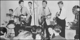 The Quarrymen with John Lennon Paul McCartney