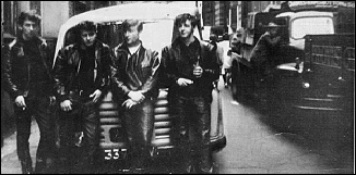 The Beatles - George Harrison John Lennon Paul McCartney and Pete Best