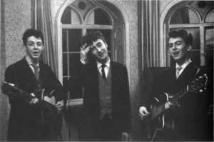 Paul, John and George as Japage 3