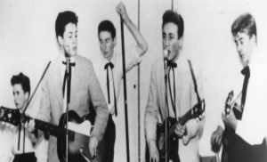 The Quarrymen with John Lennon and Paul McCartney