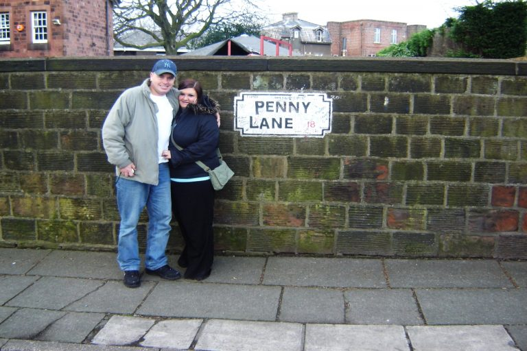 Have your photo taken at Penny Lane on your Beatles tour