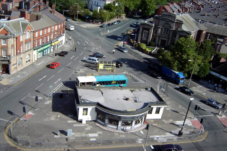 Penny Lane Roundabout - an essential on any Liverpool Beatles Tours