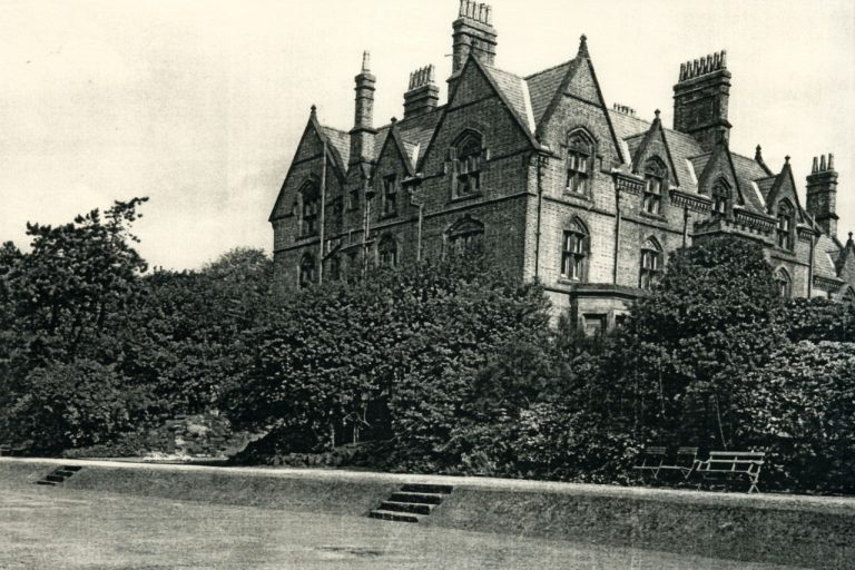 Original Mansion at Strawberry Field